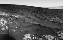 Curiosity Rover Makes First Visit to Martian Dunes