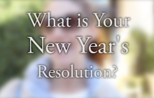 Locals Mark New Year with 2016 Resolutions
