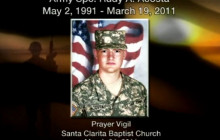 Prayer Vigil for Army SPC Rudy A. Acosta (Part 2)