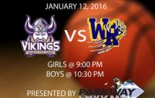 Jan. 12, 2016: Basketball Returns; Filming Rates; more