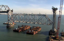 News Flash: Old Bay Bridge Truss Takedown Is a Success