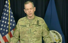 Commanding General on Anti-ISIL Campaign