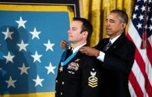 President Obama Awards Medal of Honor to Navy SEAL Edward Byers Jr.