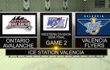 Western States Hockey Semifinal: Valencia vs. Ontario, Game 2