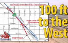 Moving Highway 99 to Fit High-Speed Rail