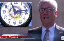 Rotary Club Dedicates Clock in Old Town Newhall