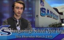 Saugus News Network, 3-22-2016: Open House Thursday; more