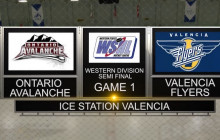 Western States Hockey Semifinal: Valencia vs. Ontario, Game 1