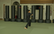 13-Year-Old Karate Kid Makes National TV Sunday