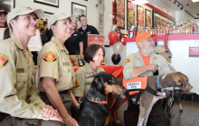 Firehouse Subs Gives Back to Service Dogs