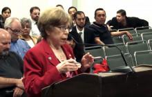 Santa Clarita Councilwoman Marsha McLean at CHSRA Board Meeting, 4-12-2016