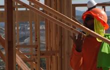 Veterans, Volunteers Help Build Homes for Heroes