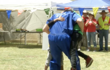 Inmates Reunited with their Children at Carnival Event