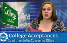 Saugus News Network, 4-19-2016: More College Acceptances, Character Counts