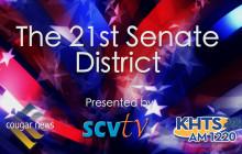 The 21st Senate District Candidates Forum
