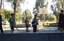 LA Kings Give Pointers to Boys & Girls Club Members