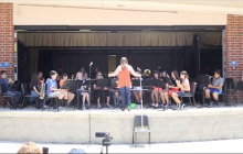 Students Honor Teacher Rod Bennett with Musical Tribute