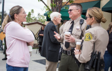 May 25: Coffee with a Cop; Memorial Firefighter Ride; more