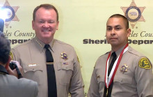 Sheriff Honors 31 Deputies for Saving Lives; 4 from SCV