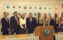 Press Conference: New Sheriff's Station Coming to SCV