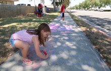 July 18, 2016: Chalk Walk Event; Interstate 5 Crash; more