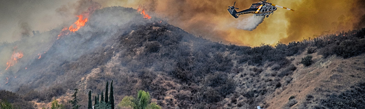 800+ Acres Charred in Stevenson Ranch Fire