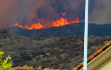 Stevenson Ranch Evacuated for Sage Fire