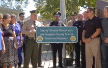 August 10, 2016: Deputy Shayne York Memorial Highway, U.S. Olympics Swim 'Carpool Karaoke'