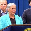 Gov. Brown, Sen. Fran Pavley on Passage of Climate Bills SB32, AB197