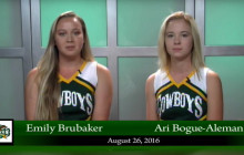 Canyon News Network for Friday, Aug. 26, 2016 (Partial)