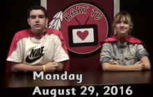 Hart TV for Monday, Aug. 29, 2016: Be Someone's Hero Day