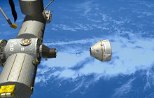 Commercial Crew Astronauts Visit; more