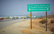 Deputy Shayne Daniel York Memorial Highway Sign Ceremony