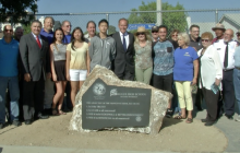 Rotary Clubs Unveil Peace Garden at Saugus High School