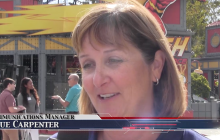 """Magic Mountain Previews """"Fright Fest,"""" New Attraction"""