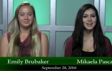 Canyon News Network for Wednesday, Sept. 28, 2016: Leadership Reminders, Football Fundraiser