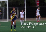 Women's Soccer Highlights: Santa Barbara Beats COC 2-1