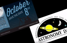 What's Up for October 2016: Astronomy Day; 3 Meteor Showers