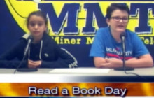 Miner Morning TV for Tuesday, Sept. 6, 2016: Read a Book Day