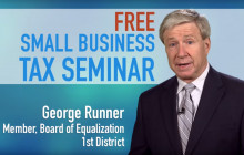 Free Small Business Tax Seminar in SCV Sept. 13