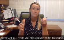 Sierra Vista Life for Wednesday, Sept. 7, 2016: What Not to Bring to School