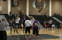 Former Basketball Players Hit the Court for Alumni Game