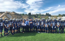 Saugus High Unveils New Football Field