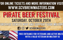 October 29: 2nd Annual Pirate Beer Festival