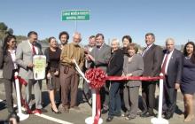 Connie Worden-Roberts Golden Valley Bridge Dedicated