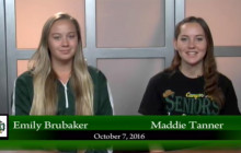 Canyon News Network for Friday, Oct. 7, 2016