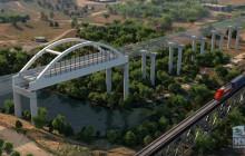 Animation: San Joaquin River Viaduct & Pergola