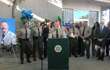 Press Conf.: Sheriff Jim McDonnell on Line-of-Duty Death of Sgt. Steve Owen