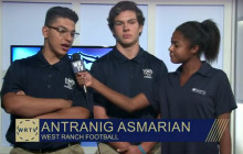 West Ranch TV, 10-7-2016: Clown Sightings, Volleyball, Football, Blood Drive