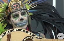 Thousands Honor the Dead at Eternal Valley for Día De Los Muertos